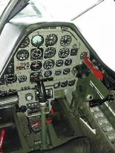 North American P-51 Mustang Cockpit