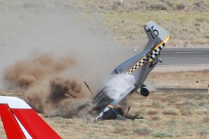 North American P-51 Mustang Crash Pictures