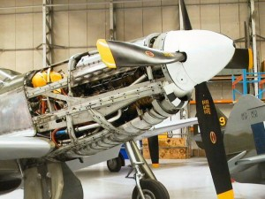 North American P-51 Mustang Engine Pictures
