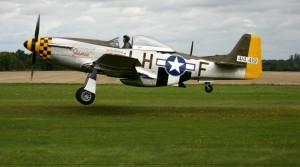North American P-51 Mustang Side View