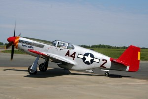 Red Tail North American P-51 Mustang