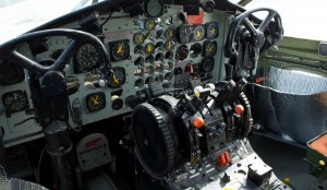 Cockpit Fairchild C-119 Flying Boxcar