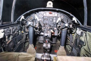Cockpit North American B-25 Mitchell