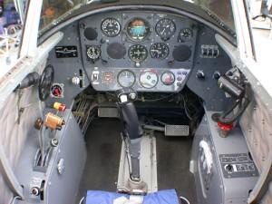 Cockpit of Nanchang CJ-6