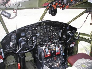 Fairchild C-119 Flying Boxcar Cockpit
