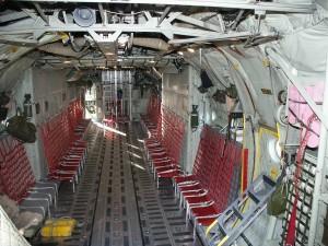 Lockheed C-130 Hercules Inside