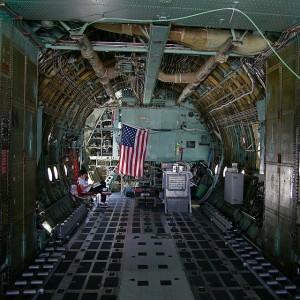 Lockheed C-130 Hercules Interior