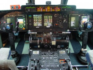 Lockheed C-5 Galaxy Cockpit