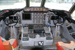 Lockheed P-3 Orion Cockpit