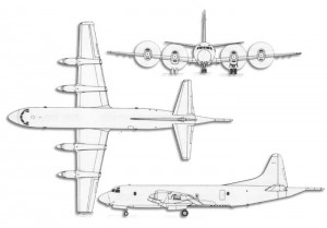 Lockheed P-3 Orion Drawing