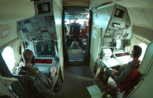 Lockheed P-3 Orion Interior