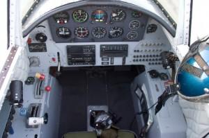 Nanchang CJ-6 Cockpit