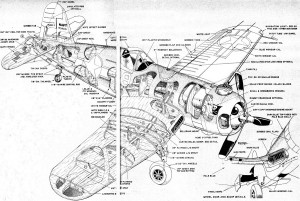 Vought F4U Corsair Drawing