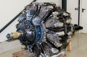 Vought F4U Corsair Engine