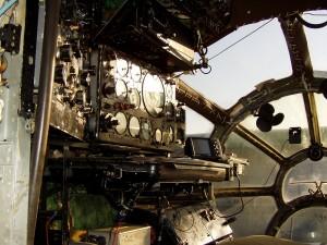 Antonov An-12 Cockpit