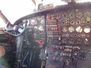Antonov An-12 Cockpit Pictures