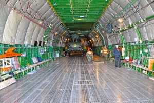 Antonov An-124 Interior