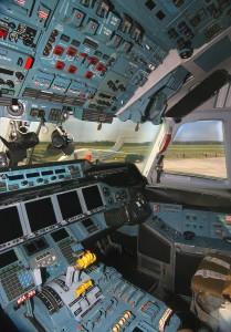 Antonov An-70 Cockpit