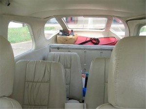 Cessna 205 Interior