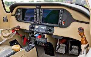 Cessna 350 Cockpit
