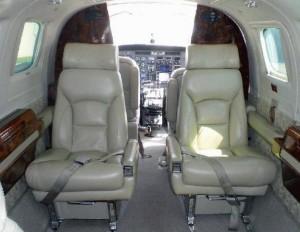 Cessna 441 Interior