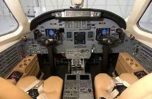 Cessna 560 Cockpit