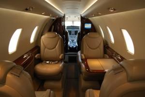 Cessna 560 Inside
