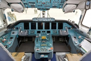 Cockpit of Antonov An-70