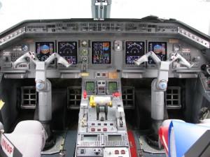 Embraer 135 Cockpit