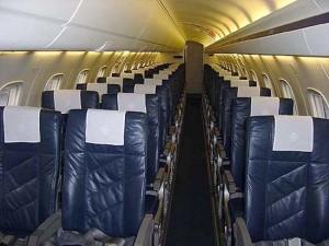 Embraer 135 Interior