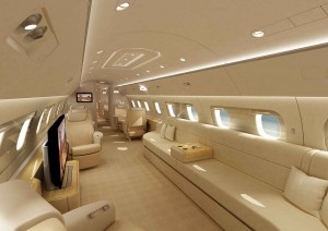 Embraer Lineage 1000 Cabin Inside