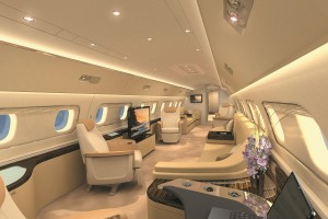 Embraer Lineage 1000 Inside