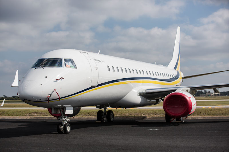 Embraer Lineage 1000 Photos