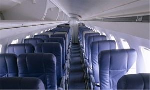 Inside of Embraer 135
