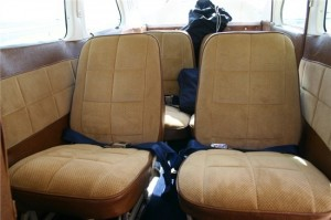 Interior of Cessna 205
