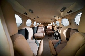 Interior of Cessna 441
