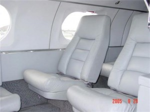 Learjet 23 Interior