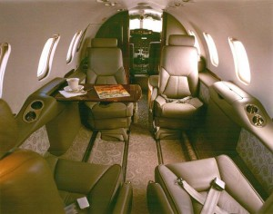 Learjet 31 Interior