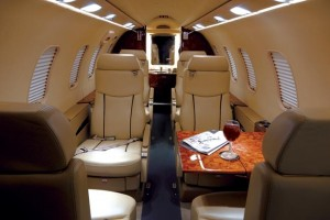 Learjet 40 Inside