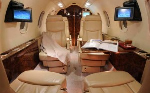 Learjet 40 Interior