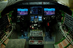 Learjet 70 Cockpit