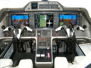 Embraer Phenom 100 Cockpit