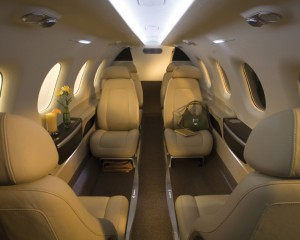Embraer Phenom 100 Inside