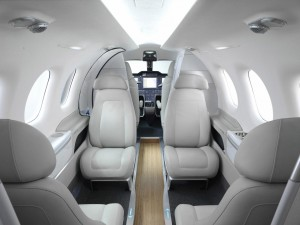 Embraer Phenom 100 Interior