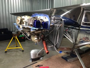 Cessna 140 and 120 Engine