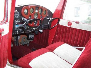 Cessna 140 and 120 Inside