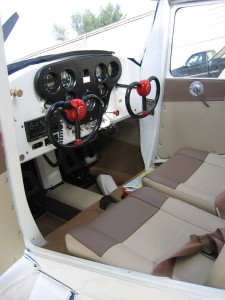 Cessna 140 and 120 Interior