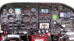 Cessna 177 Cardinal Cockpit