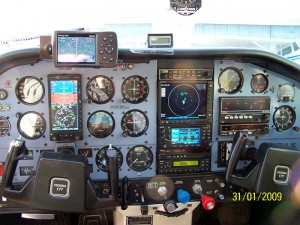 Cockpit of Cessna 177 Cardinal